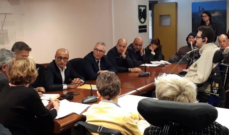 Martedì 13 l'incontro tra Regione Marche e il Comitato Marchigiano per la Vita Indipendente delle persone con disabilità