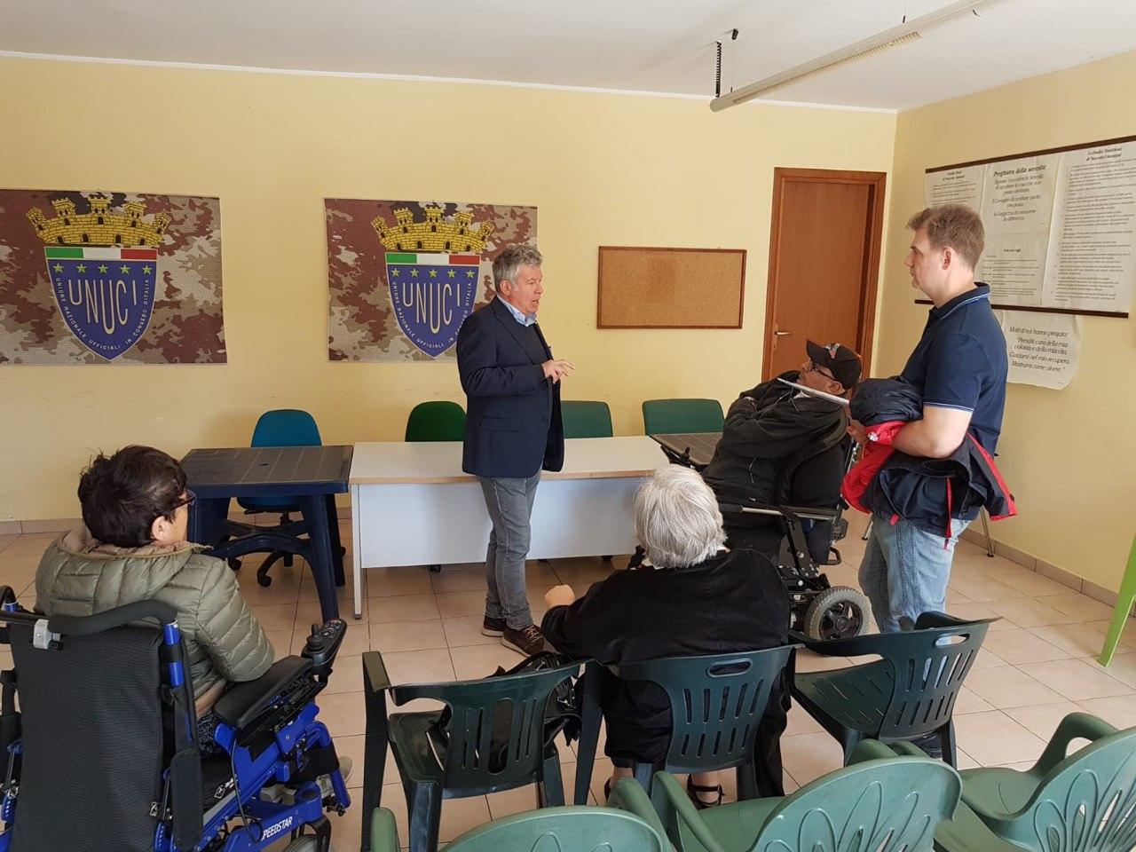 Incontro Aida/Consulta con Leo Bollettini rappresentante lega elezioni europee